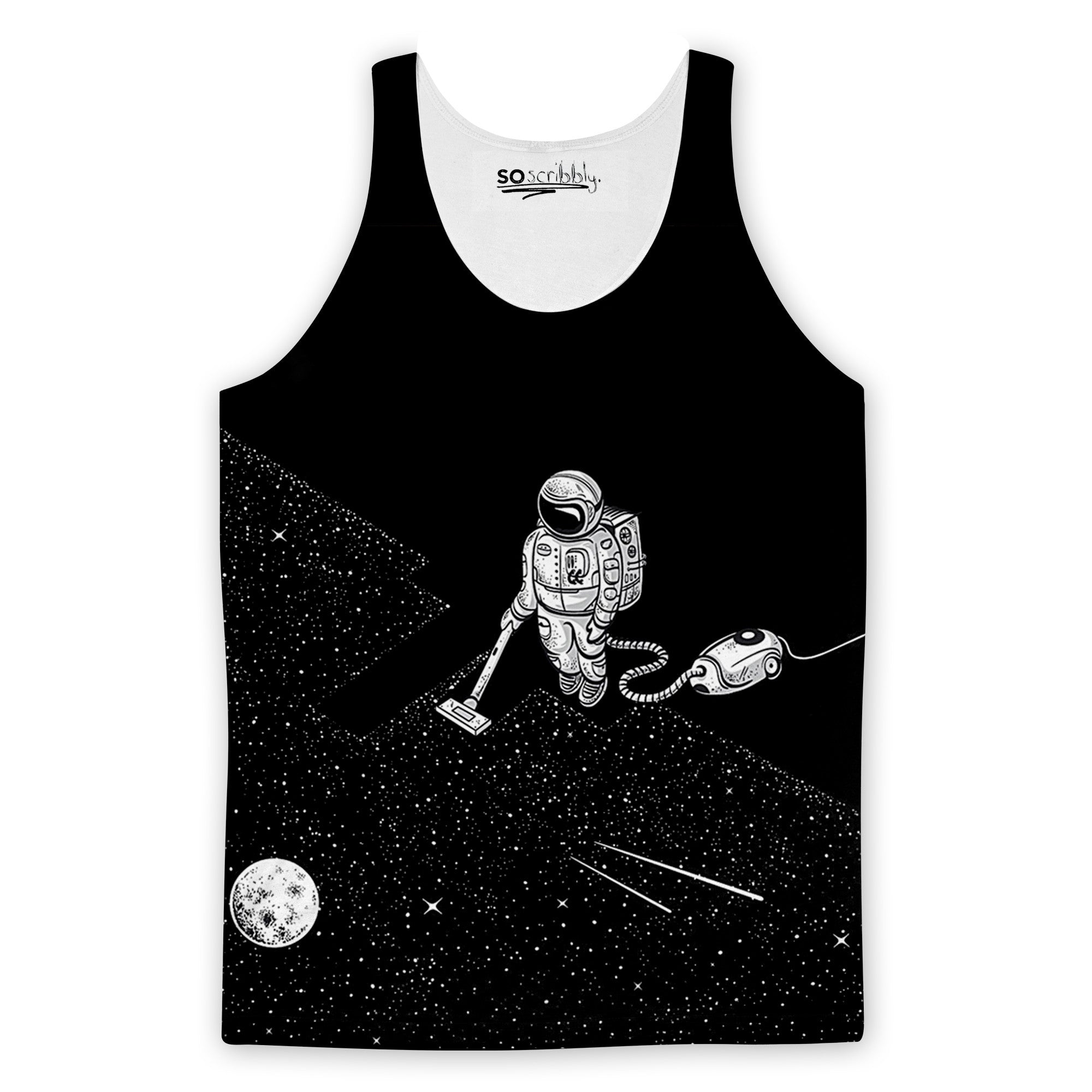 Space Cleaner Tank Top