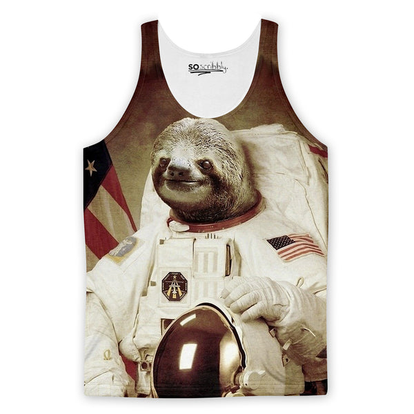 Astrosloth Tank Top
