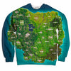 Battle Royale Map Fortnite sweater shirt