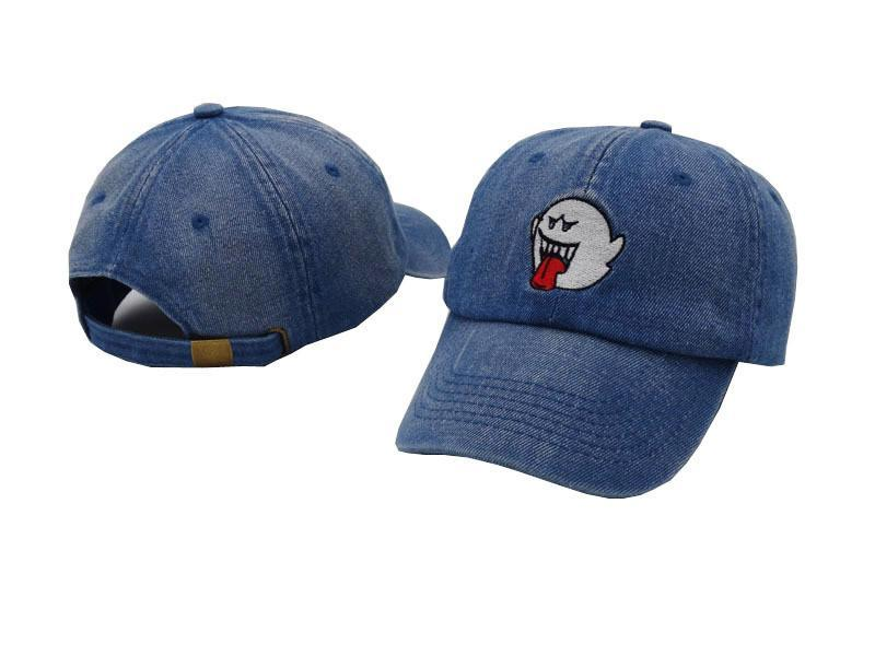 Super Mario Ghost Dad Hat