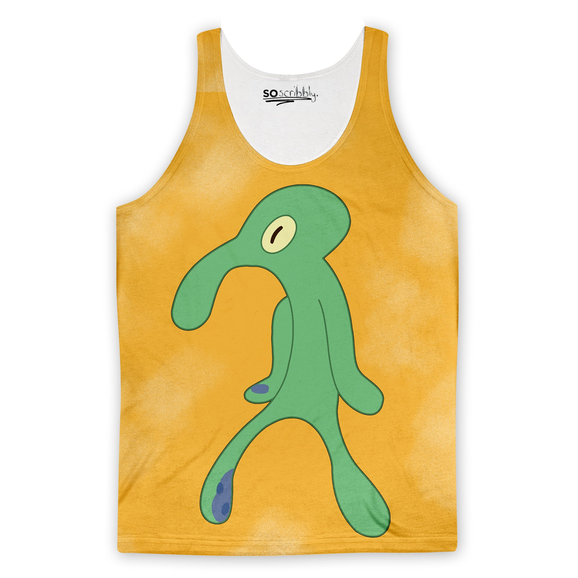 Bold And Brash Squidward Tank Top