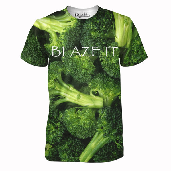 Blaze It Broccoli Tee