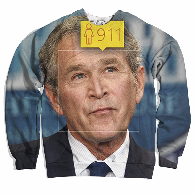 Inside Job Bush 9/11 Sweater
