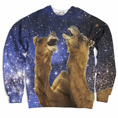 Howling Space Camels Sweater