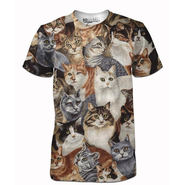 Cat Bunch Tee