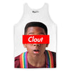 Clout Tank Top-Meme-SoScribbly