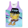Deadass Sponge Tank Top-Meme-SoScribbly