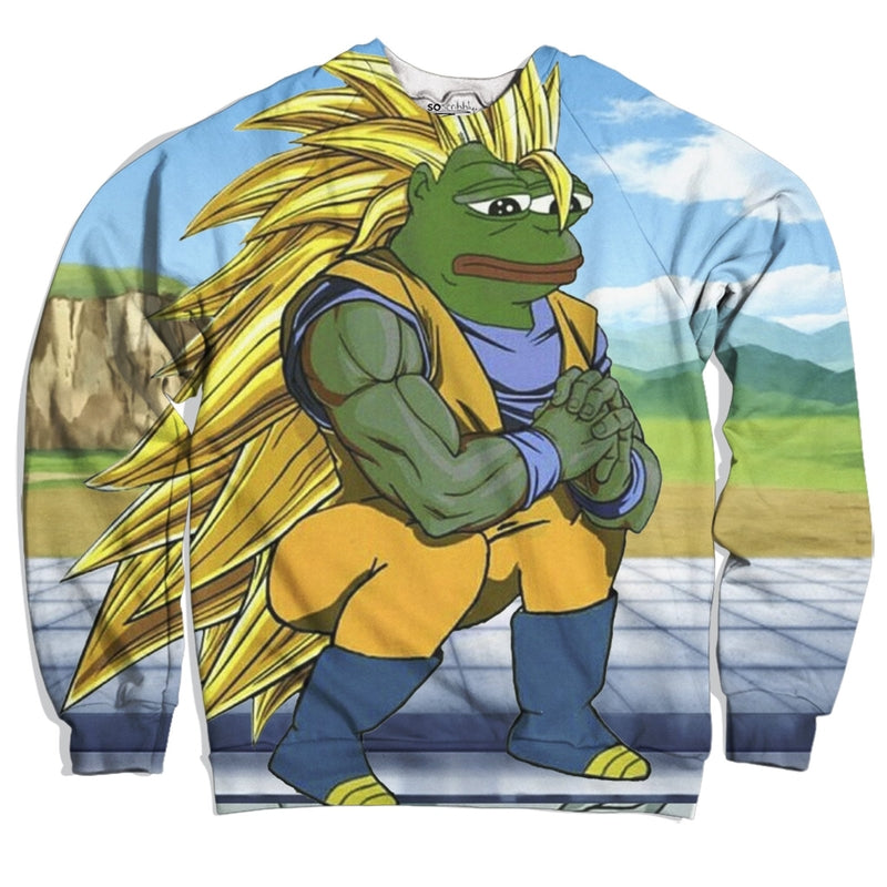 Dragonball Z Pepe Edition Sweater