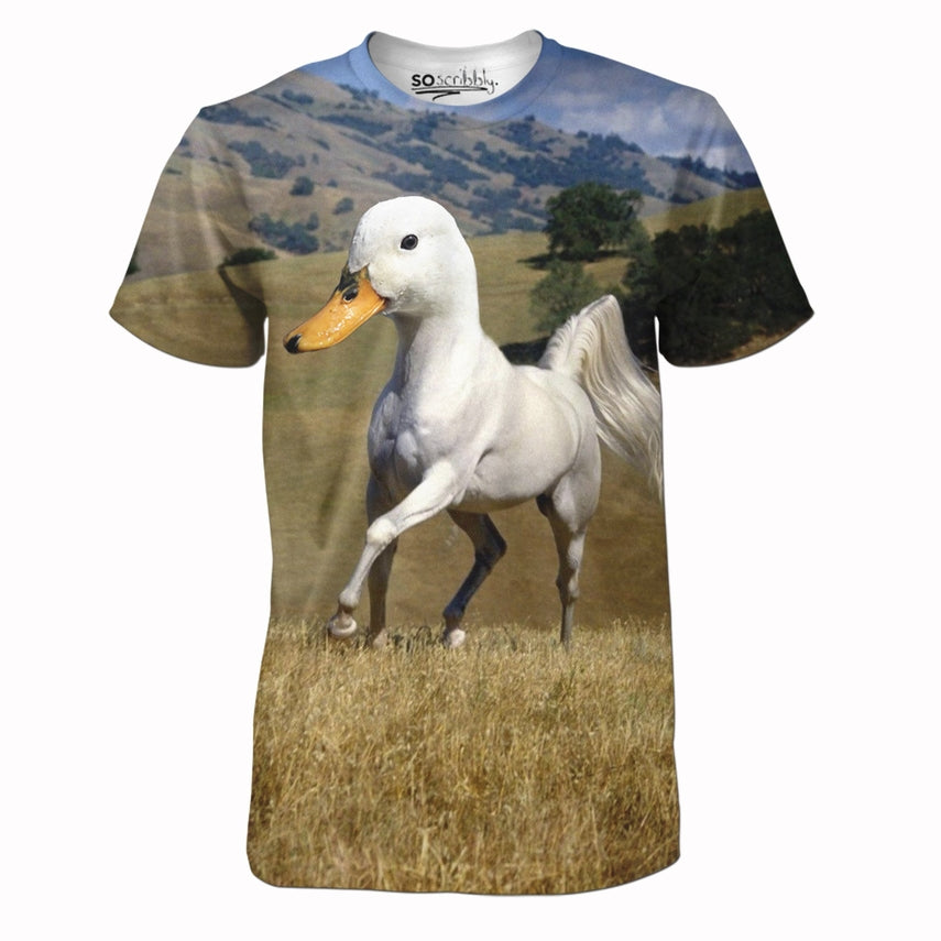 One Horse Sized Duck Tee