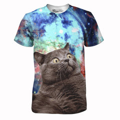 Fat Cat In Space Tee