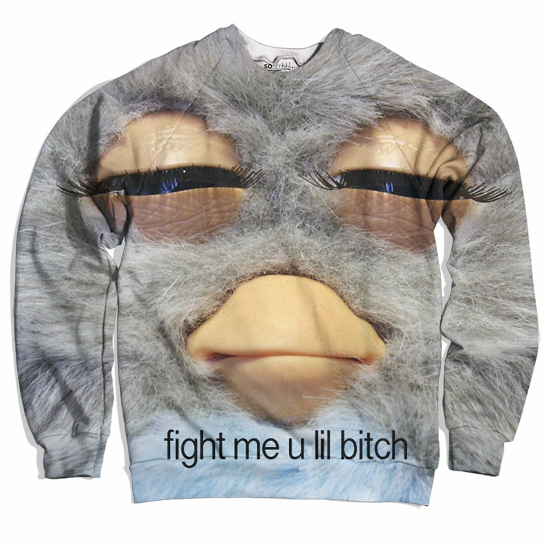Fight Me Furby Sweater