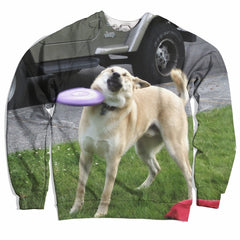 This Dog Loves Frisbees Sweater