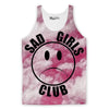 Sad Girls Club Tank Top-Meme-SoScribbly