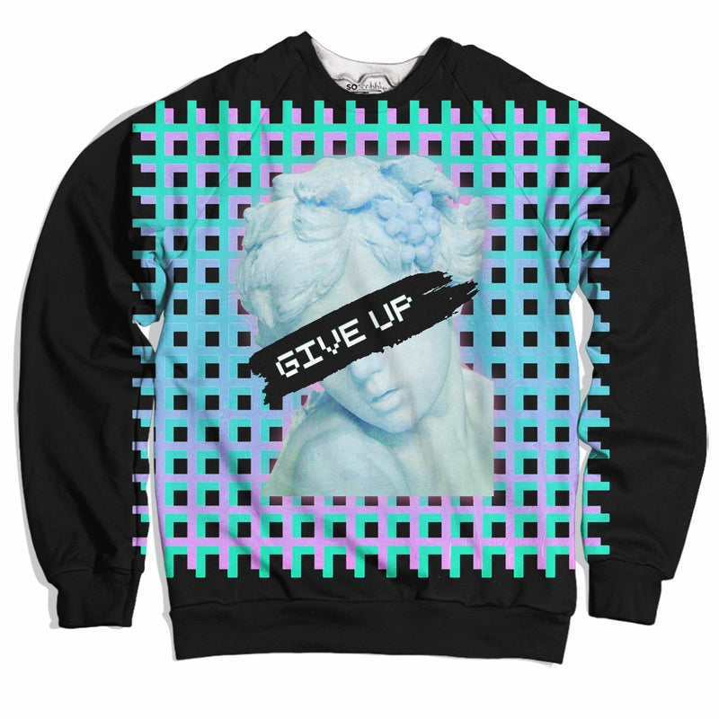 Give Up Vaporwave Sweater
