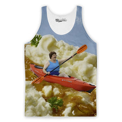 Gravy River Canoeing Tank Top