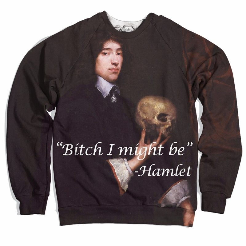 Hamlet Quote Sweater