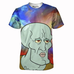 Handsome Squidward Tee