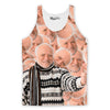 Hide The Pain Harold Collage Tank Top-Meme-SoScribbly