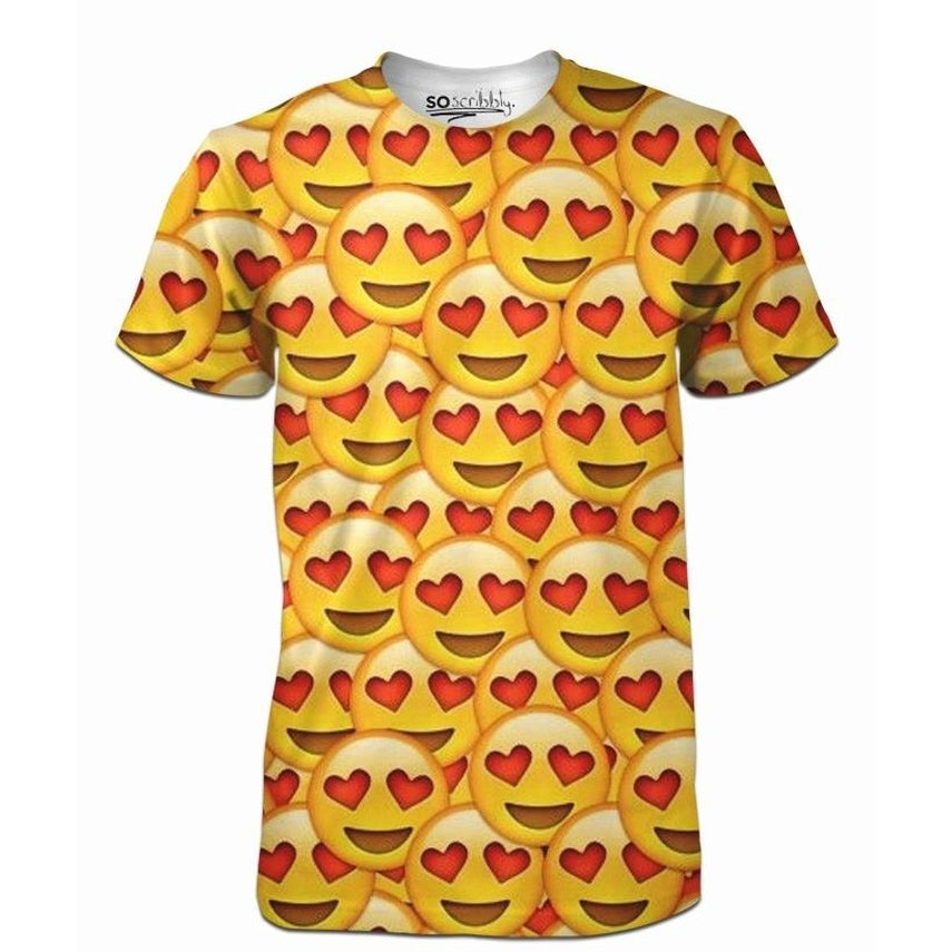 Heart Eyes Emoji Tee