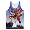 Hulk Hogan Real American Tank Top-Meme-SoScribbly