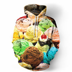 Ice Cream Invasion Hoodie