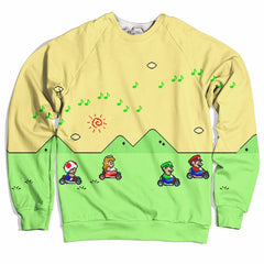 Super Mario Kart Sweater