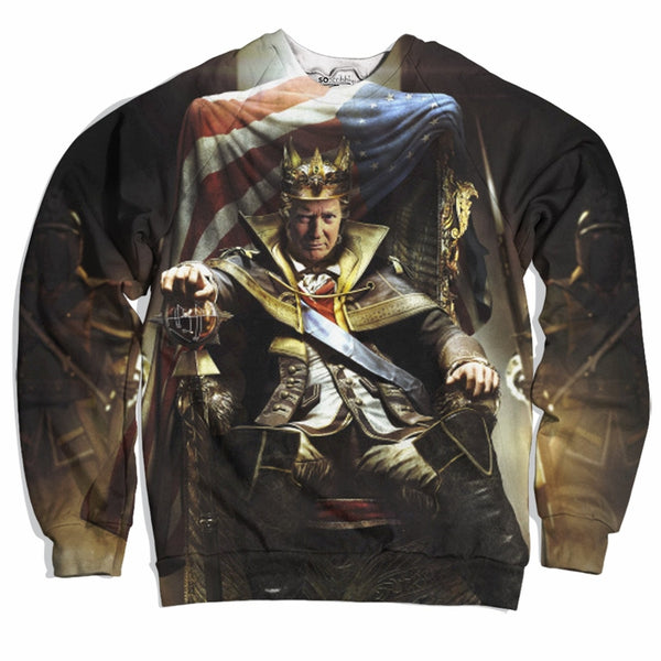 King Trump Sweater