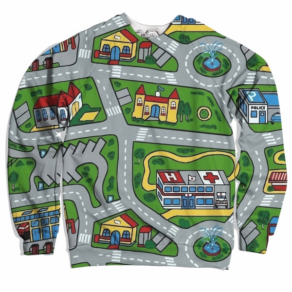 Toy Car Mat Sweater