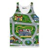 Toy Car Mat Tank Top