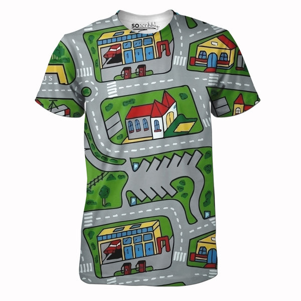 Toy Car Mat Tee