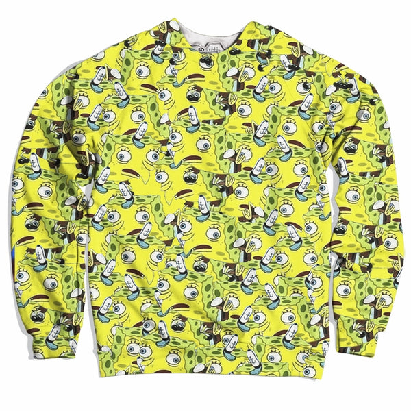 Spongebob Mocking Sweater