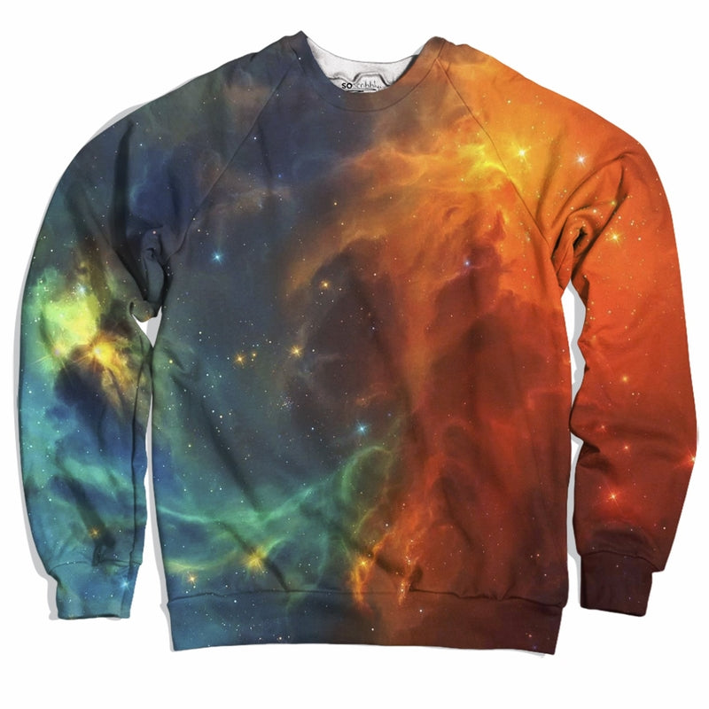 Fiery Nebula Sweater