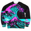 Neon Waves Sweater