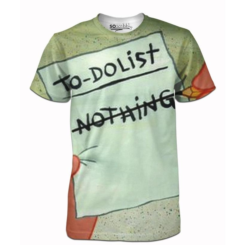 Nothing To Do List Tee