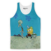 Krusty Krab Pizza Tank Top-Meme-SoScribbly