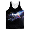 Astro Pug Tank Top-Meme-SoScribbly
