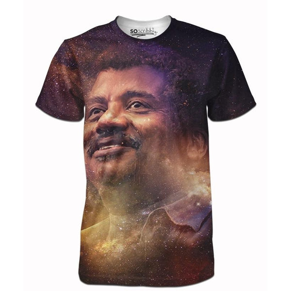 Galactic Neil Degrasse Tee