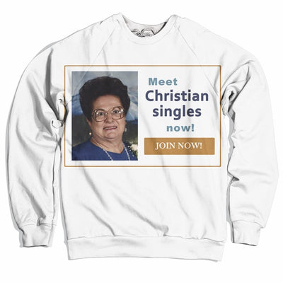 Christian Singles Sweater-Meme-SoScribbly