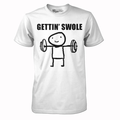 Gettin' Swole Tee-Meme-SoScribbly