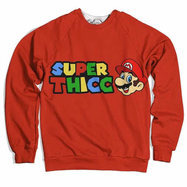 Super Thicc Plumber Sweater