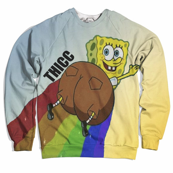 So Thicc Spongebob Sweater