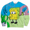 Tired Spongebob Sweater