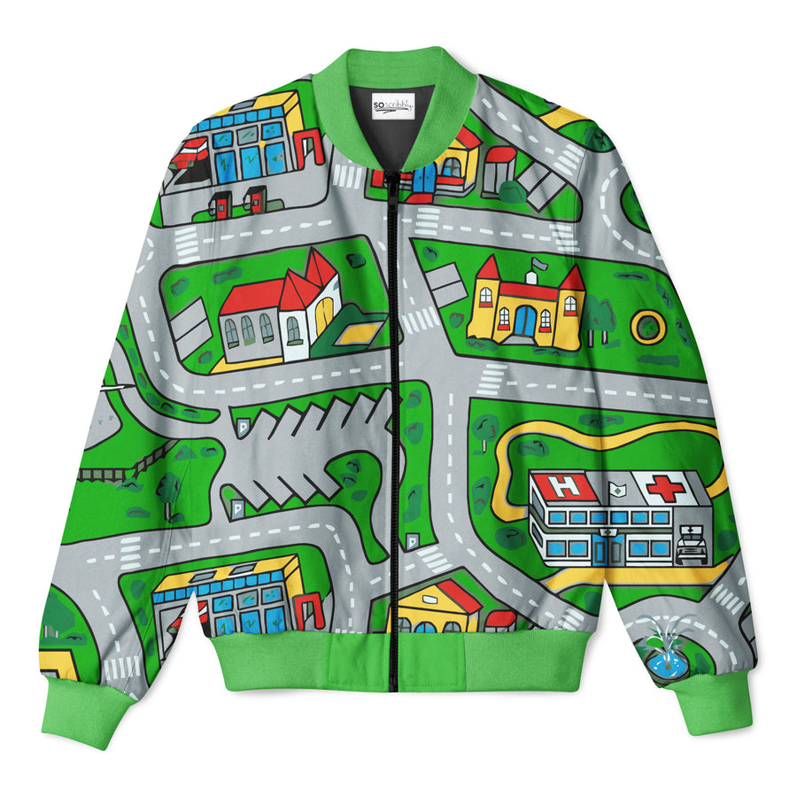 Toy Car Mat Sweater Soscribbly