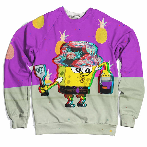 Spongebob Trippy Pants Sweater