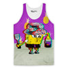 Trippy Square Pants Tank Top-Meme-SoScribbly