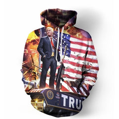Make America Trump Again Hoodie