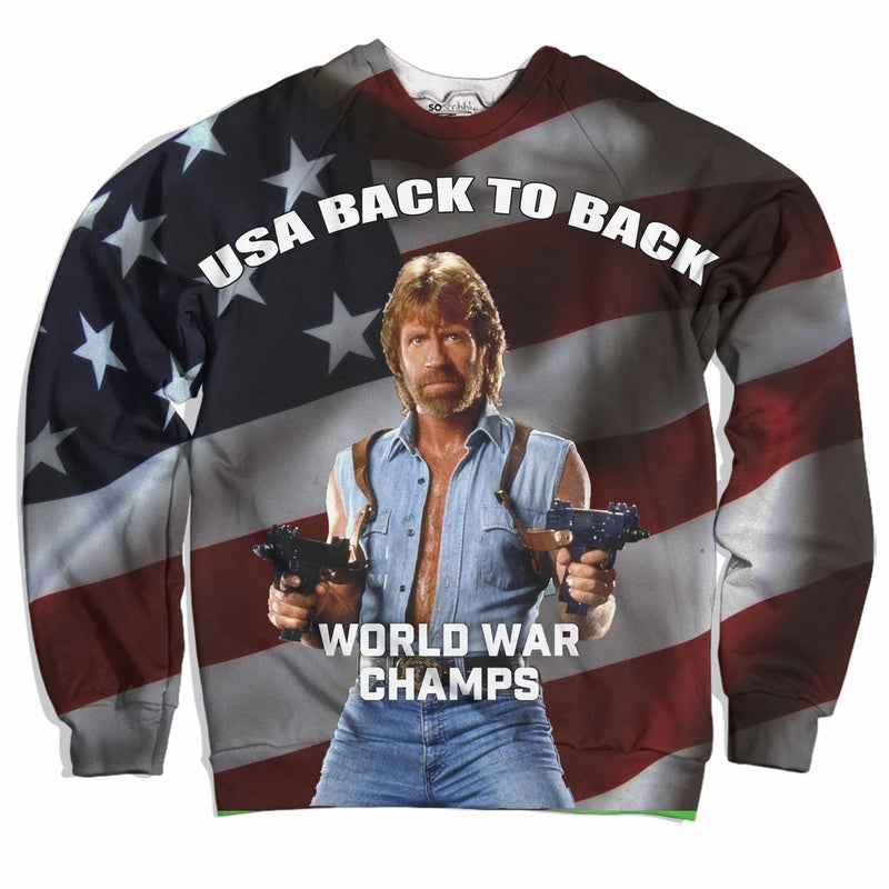Back To Back Champs Sweater