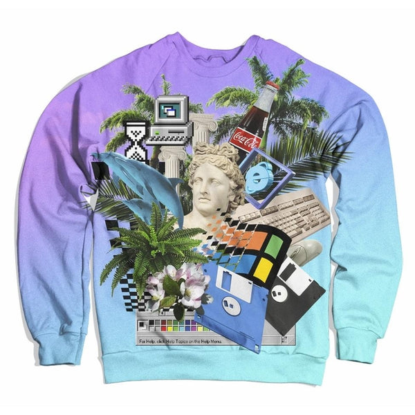 Vaporwave Sweater