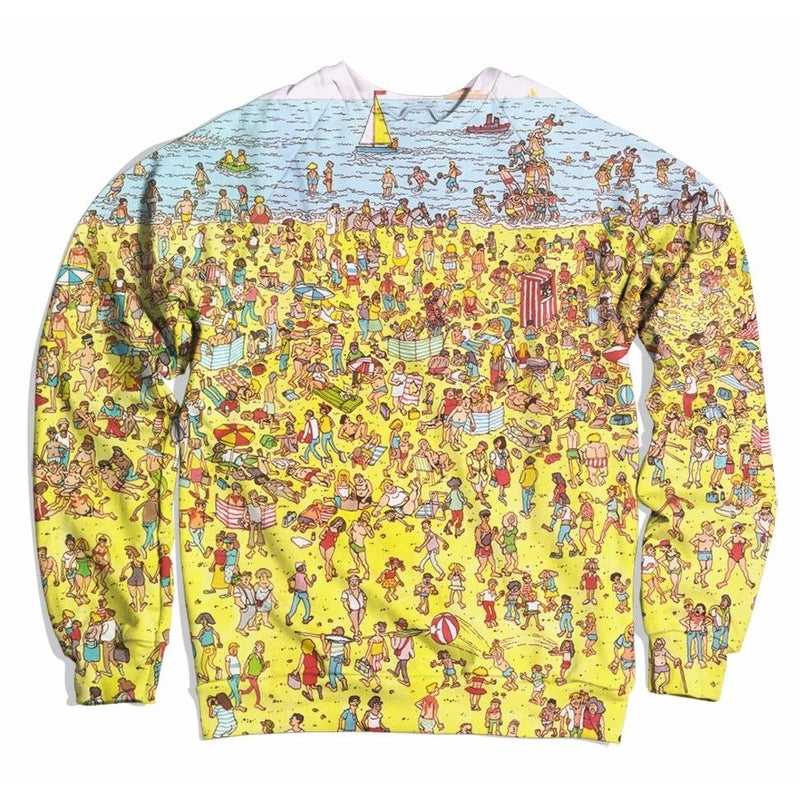 Waldo Beach Nostalgia Sweater