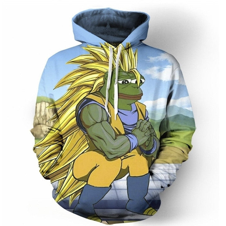 Dragonball Z Pepe Edition Hoodie
